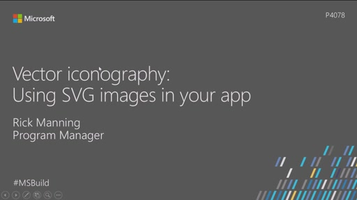 Vector iconography: Using SVG images in your app