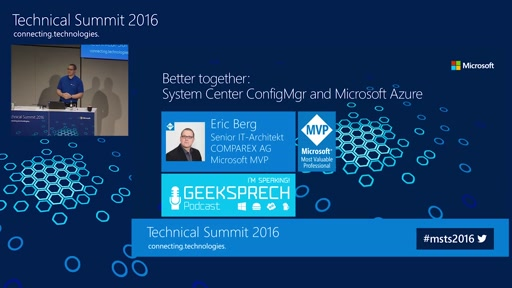 Better together: System Center Configuration Manager und Microsoft Azure