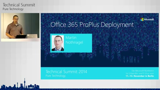 Office 365 ProPlus Deployment - Migration und Management