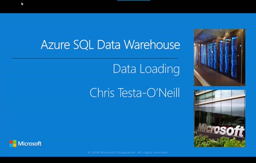 Part 3–Loading Data into Azure SQL Data Warehouse