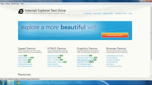 Web Workers in IE10: Background JavaScript Makes Web Apps Faster