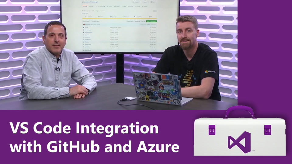 VS Code Integration with GitHub and Azure