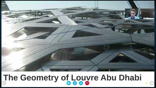 The 3D Geometry of Louvre Abu Dhabi