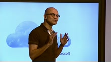 Microsoft CEO pledges great experiences for life and work
