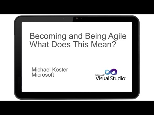 AGILE ROADSHOW BECOMING AND BEING AGILE - WHAT DOES THIS MEAN?