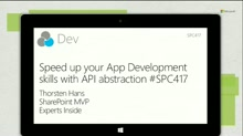 Speed up your app development skills with API abstraction