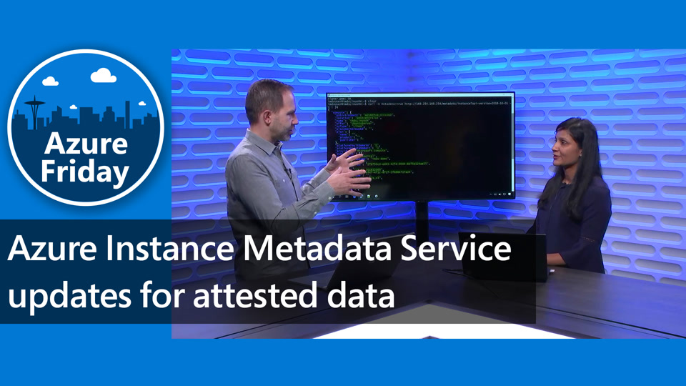 Azure Instance Metadata Service updates for attested data