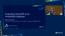 Evaluating RavenDB as an embedded database