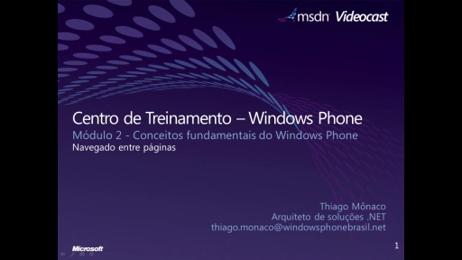 Windows Phone 7 - Navegando entre páginas