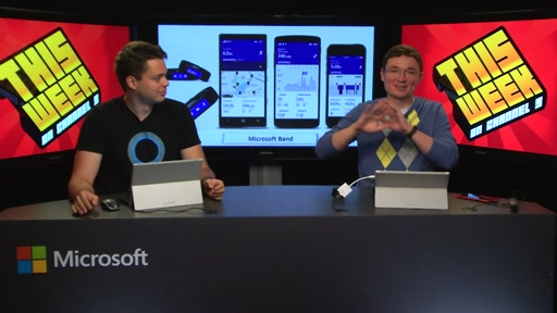 TWC9: Microsoft Band, TechEd Europe 2014, Office 365 API's, HTML5 Final, a special guest and more...
