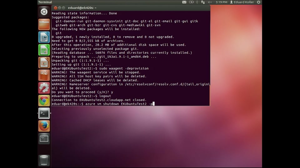 Installing a Linux Image on Azure with Eduard Koller