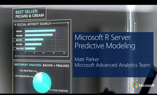 Introduction to Microsoft R Server, Session 4: Data Analysis and Modeling