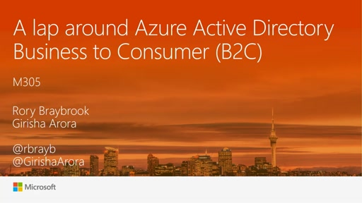 A lap around Azure AD B2C for developers (Business to Consumer)