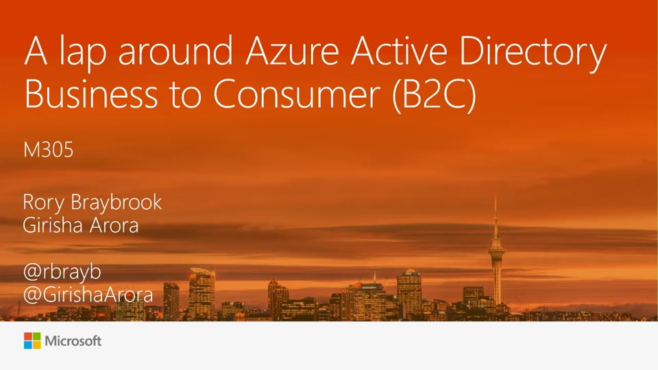 A lap around Azure AD B2C for developers (Business to ...