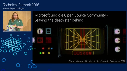Microsoft und die Open Source Community - Leaving the death star behind