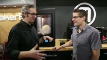 CES 2014: MakerBot CEO Bre Pettis Discusses new 3D Printers