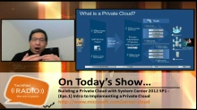 TechNet Radio: (Part 1) Building a Private Cloud with System Center 2012 Service Pack 1 - Introduction