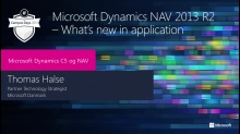 NAV 2013R2 - What's new in application