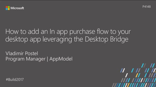 How to add an in-app purchase flow to your desktop app leveraging the Desktop Bridge