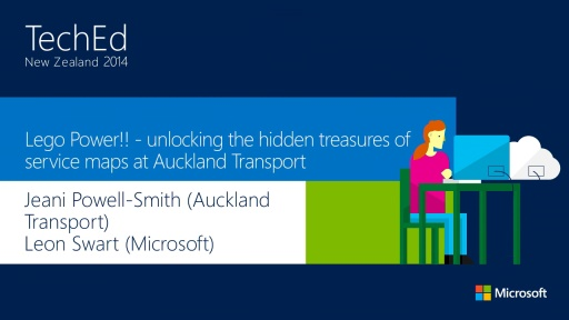 Lego Power!! - unlocking the hidden treasures of service maps at Auckland Transport
