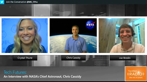 Tech Futures: An Interview with NASA's Chief Astronaut, Chris Cassidy