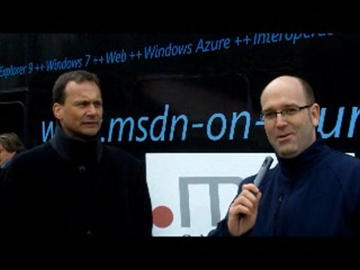 MSDN on Tour -  Interview aus Passau