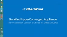 Deploy easy-to-use virtualizition hyperconverged infrastructure