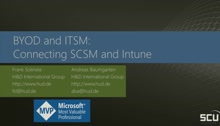 BYOD and ITSM: Connecting SCSM and Intune