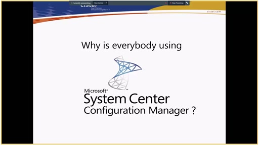Why is everybody using System Center Configuration Manager?