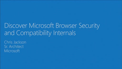 Discover Microsoft browser security and compatibility internals