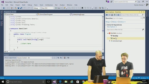 Episode 60 - ALM Series: Git und Visual Studio 2015