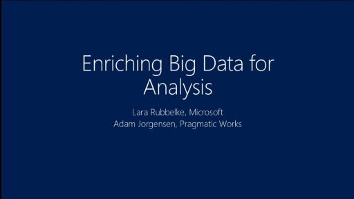 Enriching Big Data for Analysis