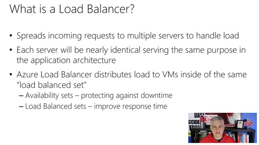 Microsoft Azure Fundamentals: Virtual Machines: (09) Understanding Load Balancing in Azure