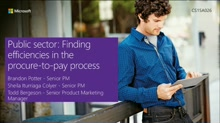 Public Sector: Finding Efficiencies in the Procure-to-Pay Process