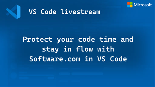 Protect your code time and stay in flow with Software.com in VS Code