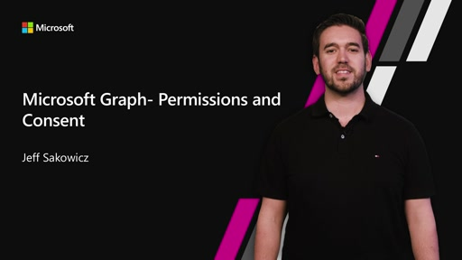 Microsoft Graph - Permissions and Consent