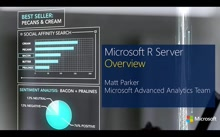 Introduction to Microsoft R Server Session 1 : Overview