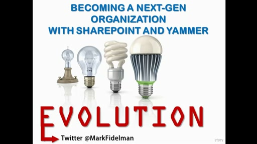 Becoming a next-gen organization with SharePoint and Yammer