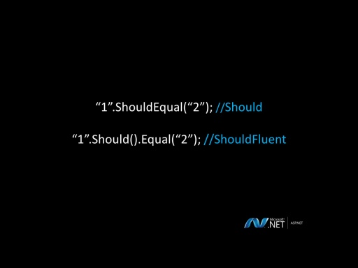 ASP.NET MVC With Community Tools Part 12: Should Assertion Library