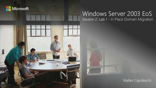 La piattaforma Windows Server 2012 R2 e la migrazione da Windows Server 2003 - Modulo 2