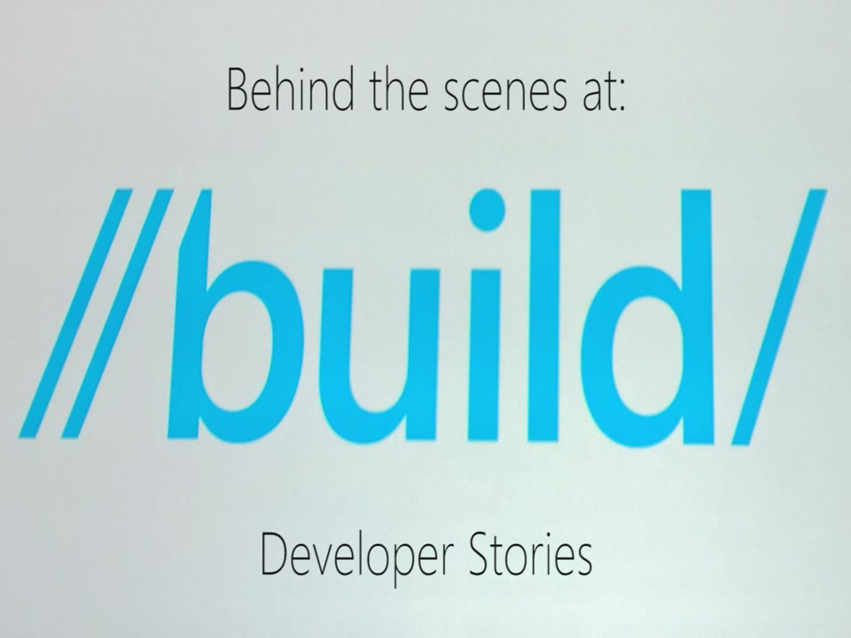 Developer Stories - Vittorio Bertocci - Identity