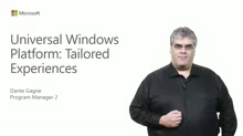 Universal Windows Platform Tailored Experiences