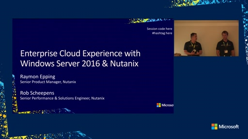 Bringing an enterprise cloud experience to your data center with Windows Server 2016 and Nutanix