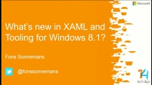 What's new in XAML and Tooling for Windows 8.1?