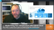 TechNet Radio: (Part 1)  Modernizing Your Infrastructure with Hybrid Cloud - Why NOW is a good time to plan for Modernizing Your Infrastructure