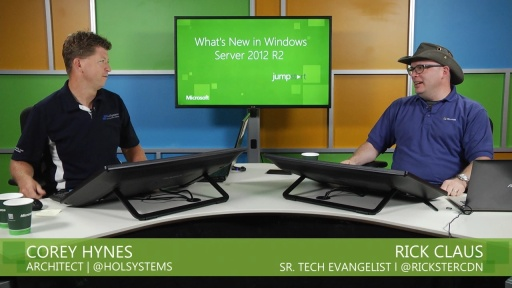 What's New in Windows Server 2012 R2: (03) Cloud Optimized Networking