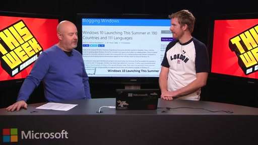 TWC9: Windows 10 Launch Date, Win10 Dev Tools, Azure Apps, API Tools, IoT and more...