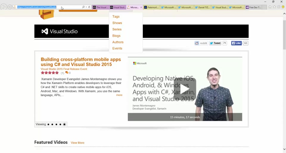 What's New and Cool in Visual Studio 2015
