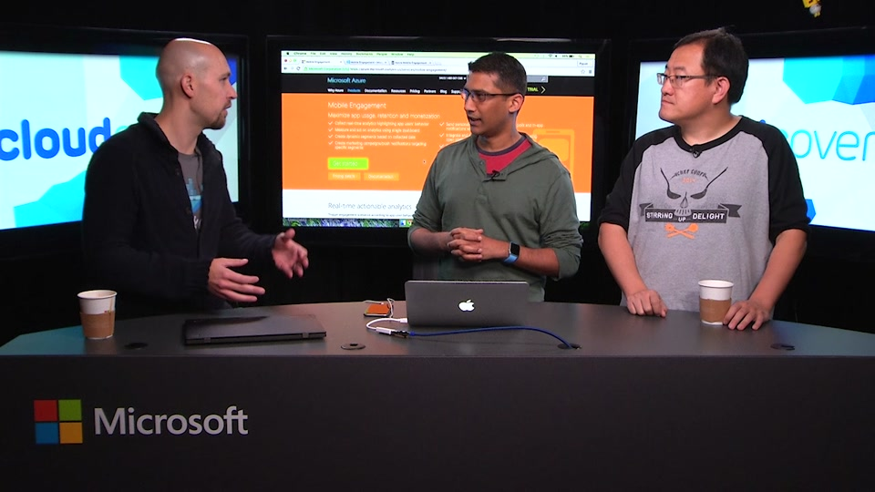 Episode 192: Azure Mobile Engagement with Piyush Joshi