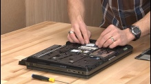 Wrenching on the HP 8770w Worksation Laptop